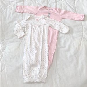 Set of Carter's Sleeper Gowns 💗